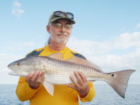 Randy Meyers Surf Fishing For Redfish